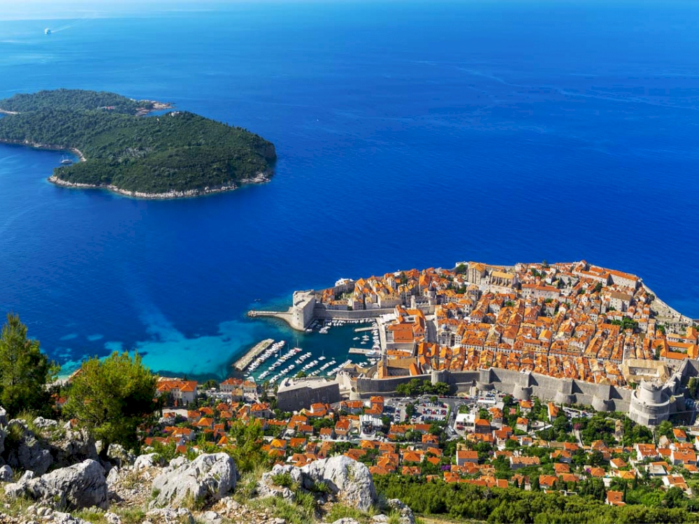 Dubrovnik Panorama & Old Town Walking Tour